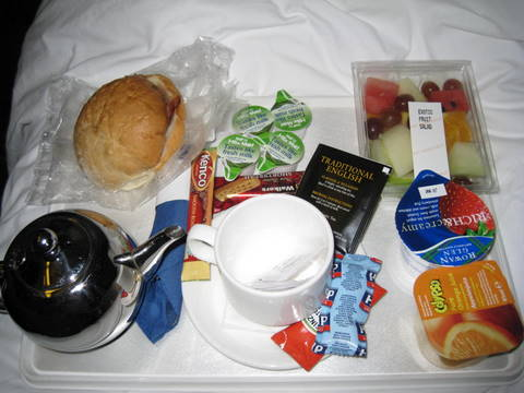 Caledonian Sleeper Breakfast
