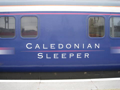 The caledonian Sleeper