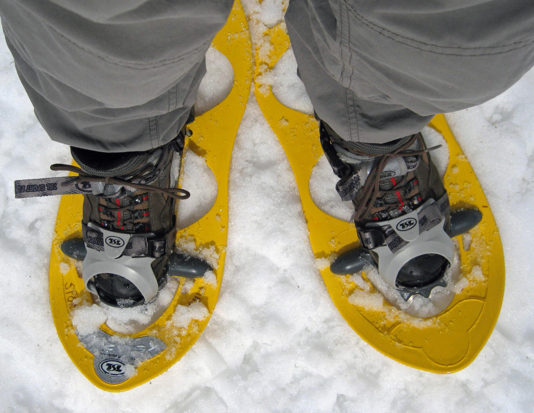 Snowshoes and MC Hammer Pants