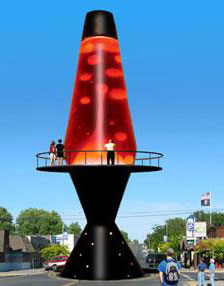 Worlds Largest Lava Lamp